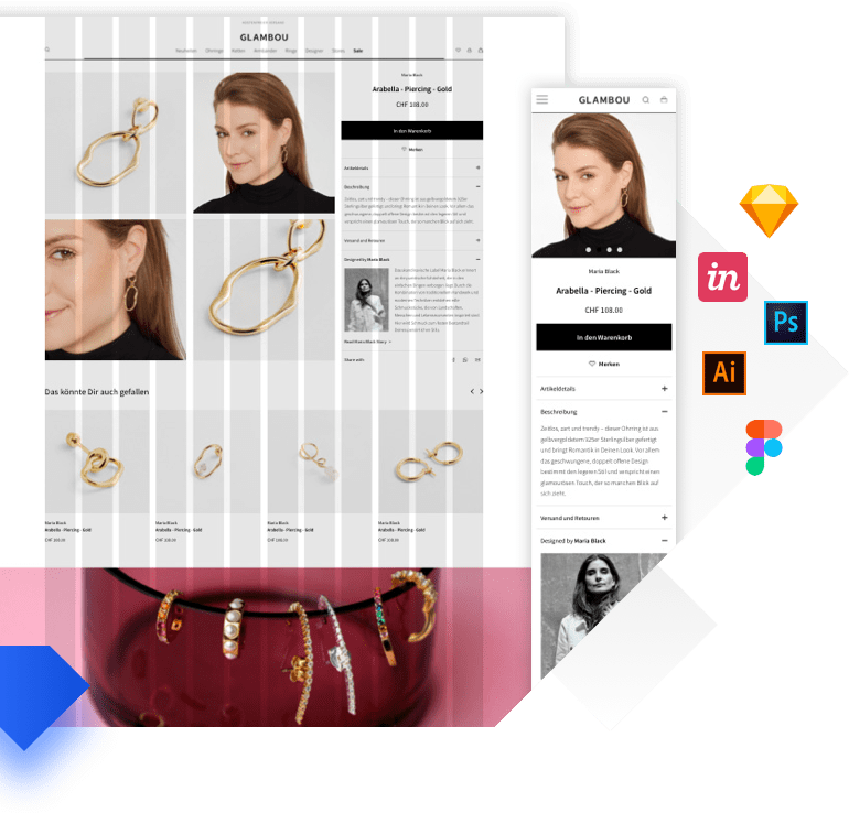 Responsive Design & UX/UI für Webprojekte