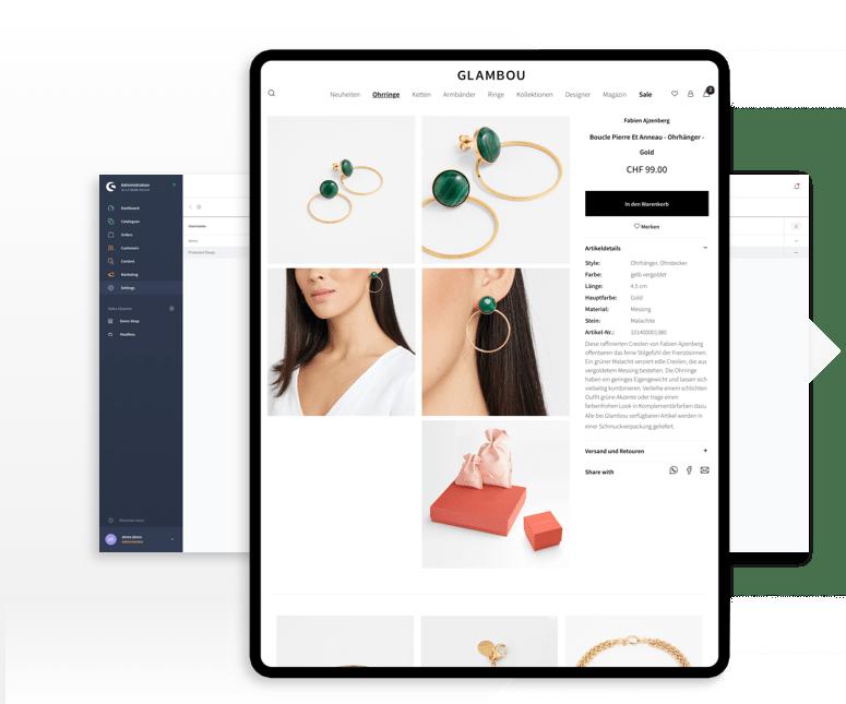 Onlineshop auf Shopware