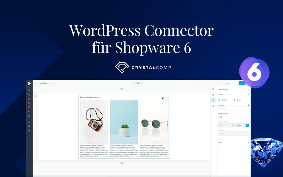 WordPress Connector für Shopware 6 – Anleitung