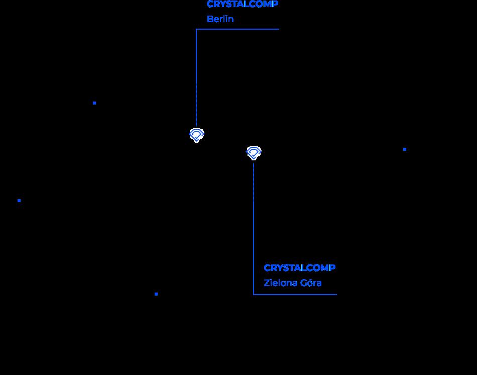 Standort der Internetagentur Crystalcomp